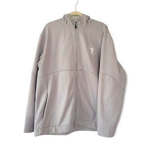 VANCOUVER 2010 OLYMPIC Winter Game Official Merchandise Light Grey Hoodie Jacket